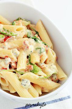 Polish Recipes, Pasta Salad, Ethnic Recipes, Food, Meal, Essen, Noodle Salads, Macaroni Salad