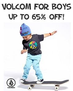 Volcom for Boys ~ up to 65% off!
