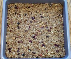 Homemade Clif Bars | power hungry