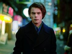 British actor and Stranger Things star Charlie Heaton narrates passages from his favourite book, Just Kids, as he goes on a dreamlike journey in New York Cit. Johnathan Byers, Charlie Heaton, Slide, Perfect Boy, British Actors, Dream Guy, Celebs, Celebrities, Cute Guys