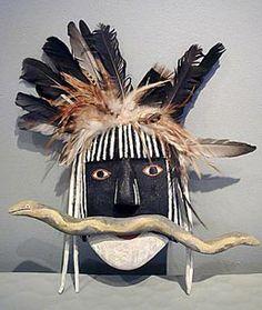 Hopi snake dancer mask