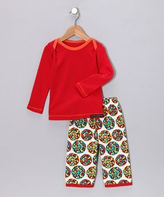 Red Tee & Burst Pants - Infant, Toddler & Kids by Paulina Quintana and  Moxie & Mabel on #zulily today!