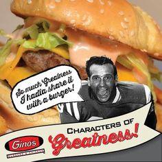 Gino's was hamburger heaven.