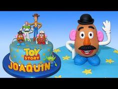 Toy Story (Cake Toppers) Part 7: Mr Potato Head / Cómo hacer al Sr. Cara...