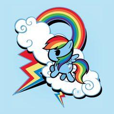 Rainbow Dash Design by Mishiri
