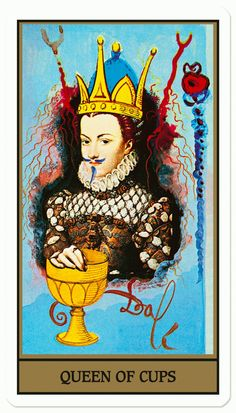 The deck was originally created for the James Bond film Live and Let Die, starring Roger Moore and Jane Seymour, but it never appeared in the picture. Salvador Dali, Jane Seymour, Roger Moore, Halloween, Custom Decks, Colossal Art, Quirky Gifts, Tarot Decks, Tarot Cards
