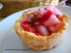 Cocina Costarricense: canastas de yuca