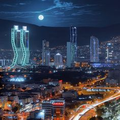 A magical night in Izmir, Turkey! Places To Travel, Places To Go, Turkish Architecture, Mein Land, Turkey Holidays, Southern Europe, Turkey Travel, City Photography, Marina Bay Sands
