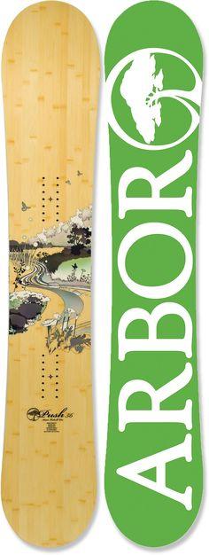 Arbor Push Snowboard - Women's - 2011/2012 at REI.com