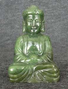 jade has healing powers. Gautama Buddha, Buddha Buddhism, Buddhist Philosophy, Gift From Heaven, Jade Jewelry, Sculpture, Jade Green, Asian Art, Healing Stones