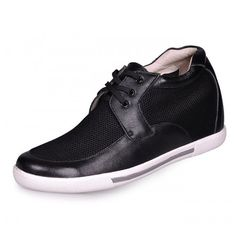 Buy discount Black men height increase casual shoes grow taller 7cm / 2.75inches with the SKU: MENJGL_A890_1 at Tooutshoes online store