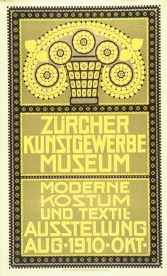 Kostüm- und Textilausstellung – 1910