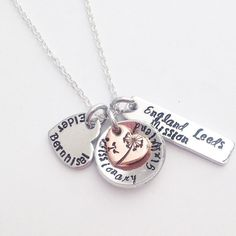 Missionary Mom or Missionary Girlfriend - LDS jewelry handstamped by Eight9Designs