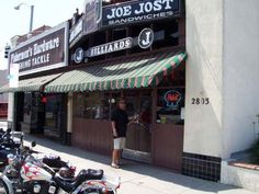 Joe Jost in Long Beach for a schooner and a special!!