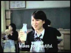 ▶ Japanese Milk Commercial - YouTube