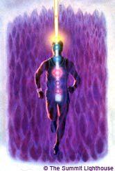 chakra man violet flame