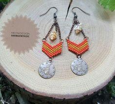 meyniii#meynilove🍉  #bohostyle #etnik #otantik #handmade #miyuki #miyukibeads #love #style #fashion #handmadejewelry #handmadewithlove #summer #earrings