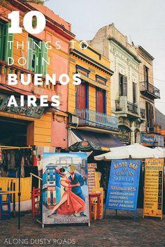 Buenos Aires é sempre incrível! Dicas com 10 coisas para se fazer na cidade!