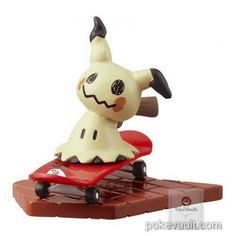 Pokemon Center 2017 Pikachu Parade Series Mimikyu Figure (Version #7)
