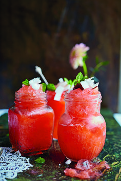 This Strawberry Granita Recipe Is a Delicious Way to Cool Off This Summer Beef Kaldereta Recipe, Beef Salpicao Recipe, Beef Birria Recipe, Rouladen Recipe, Beef Rouladen, Beef Jerkey, Jerkey Recipes, Chimichanga Recipe, Recipes