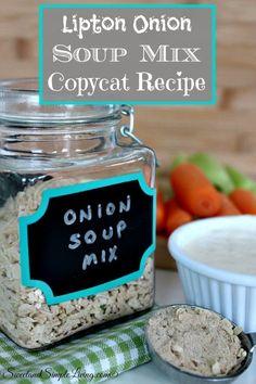 Lipton Onion Soup Mix Copycat Recipe