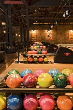 Brooklyn Bowl (looks cool AND they serve Plymouth!)!