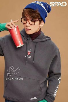 Spao update with Baekhyun Baekhyun, Exo Kai, 2ne1, Got7, Kim Minseok, Baekyeol, Xiu Min, Korean Singer, Photos