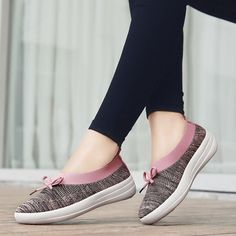PINSEN 2019 Summer Casual Women Flats Shoes Breathable Mesh Sneakers Shoes Women Slip-on Comfortable Loafers Flats Ladies Shoes Outfit Accessories From Touchy Style. Black Slip On Sneakers Outfit, Tennis Shoes Outfit, Girls Sneakers, Casual Shoes, Shoes Sneakers, Girls Dress Shoes, Girls Flats, Womens Fashion Sneakers, Womens Flats