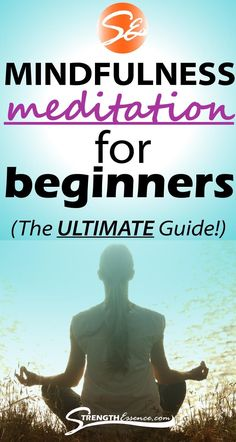 Our Mindfulness Meditation Ultimate Beginners Guide includes everything about Mindfulness Meditation! Great for Beginners or Seasoned Pros! Included is: What is Mindfulness Meditation?, Benefits of Mindfulness Meditation, Mindfulness Meditation vs Guided Meditation, How to Practice Mindfulness Meditation, How to Avoid the Pitfalls of Mindfulness Meditation, and Tips for Great Mindfulness Meditation Sessions! #mindfulness #mindfulnessmeditation #meditation #meditationforbeginners… Benefits Of Mindfulness Meditation, Meditation For Anxiety, What Is Mindfulness, Morning Meditation, Meditation For Beginners, Mindfulness Activities, Meditation Techniques, Chakra Meditation, Guided Meditation