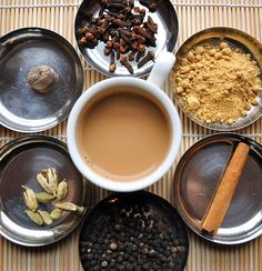 Learn how to make home made chai tea from scratch! The Hatchi Cooks shares step by step visual guide and several different flavor of chai recipes!