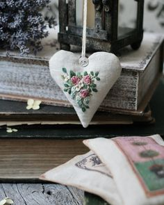 Embroidery with love