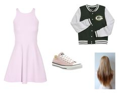 """Alyssa"" by blondiebeautyforever on Polyvore featuring Elizabeth and James and Converse"