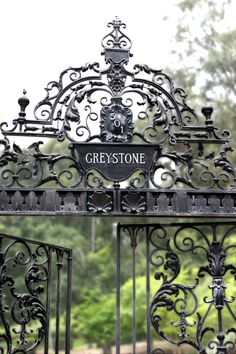 Greystone mansion (a Tudor revival mansion on a landscaped estate with distinctive formal English gardens) - Beverly hills, California