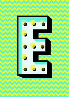 This letter is part of a collection of letters called the 'Futura Carnival Cut' which is a personal project by Nicolai Boye Brodersen. It is described as a clean, crisp and universally appealing font and series of letters. This font is known as 'Futura' and was the first font used on the Moon, the font was chosen to be used for a commemorative sign left by the astronauts of Apollo 11 in 1969.