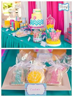Chevron Themed Birthday Party