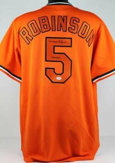 f9a8ad1ea06 Signed Brooks Robinson Jersey - with