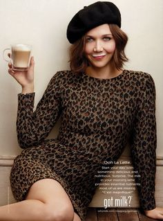 Maggie Gyllenhaal's Got Milk Ad