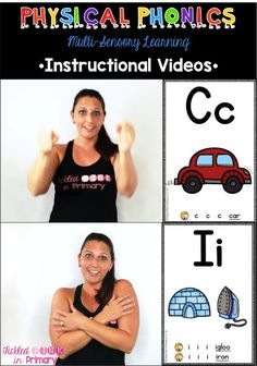 Alphabet Movement instructional videos - help students learn their alphabet and…