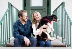 We just love Brittany and Matt ! These two wanted to get together and take a few Christmas photos with their beautiful Australian Shepherd, ...