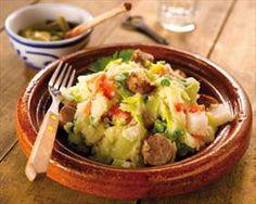 recettes: Potées et Plats uniques: Potée aux saucisses