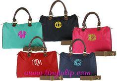 tinytulip.com - Monogrammed Longchamp Style Satchel Purse, $42.50 (http://www.tinytulip.com/monogrammed-longchamp-style-satchel-purse)