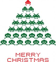 Space Invaders Christmas