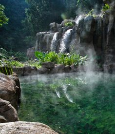 Adventure, luxury and nature combine at the 5* Banjaran Hotpsrings Retreat. Set admist the jungles of #Malaysia & surrounded by limestone hills, enjoy cave explorations, jungle trekking and luxury spa treatments.