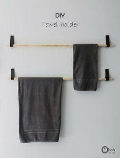 handtuchhalter mit stock