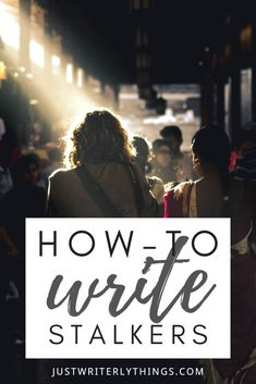 Writing stalkers can be easy if you have the right tools in place. In this article, we'll go over how-to write stalkers, what motivates stalkers, and determine how dangerous they can really be. Crime Fiction, Fiction Writing, Writing Advice, Writing Resources, Writing Help, Writing A Book, Writing Prompts, Writing Genres, Writing Skills