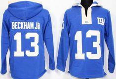 Odell Beckham Jr Royal Blue Player Winning Method Pullover NFL Hoodie