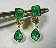 7-31ct-MAGNIFICENT-NATURAL-EMERALD-DIAMOND-DANGLE-EARRINGS-18K-GOLD-SOLD