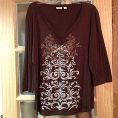 I just discovered this while shopping on Poshmark: Cato to 18/20 brown. Check it out!  Size: 18