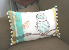 mmmcrafts: anthro tea towel and napkin pillows