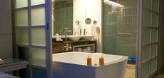 In room bathtub at Paradisus La Perla, Mexico